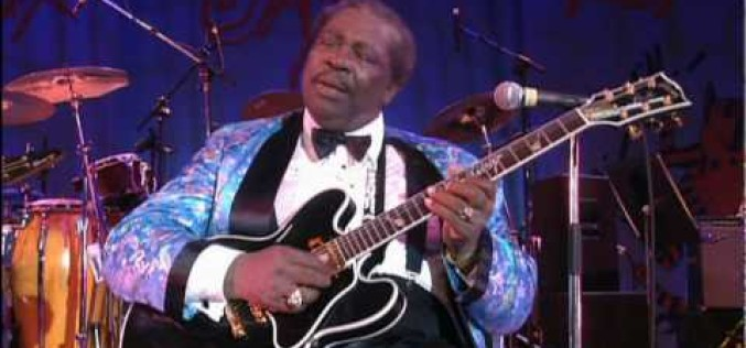 B.B King, homenaje para un gran músico que se eleva