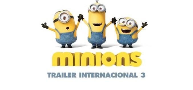 """Mira el divertido trailer de la nueva película de """"Los Minions"""""""