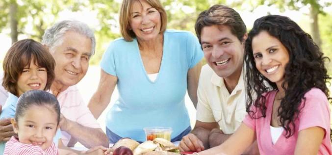 ¡Los latinos somos más saludables!
