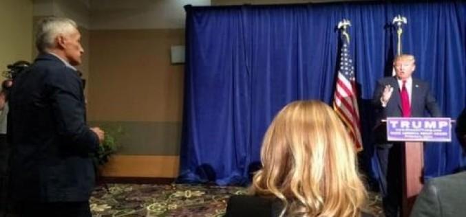 Donald Trump expulsa a Jorge Ramos de rueda de prensa ¡Mira!
