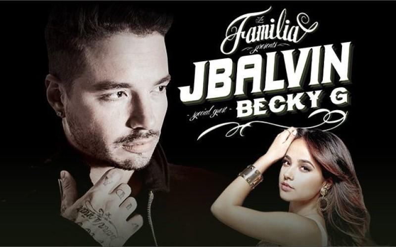 """J Balvin arranca gira """"La Familia"""" con Becky G"""