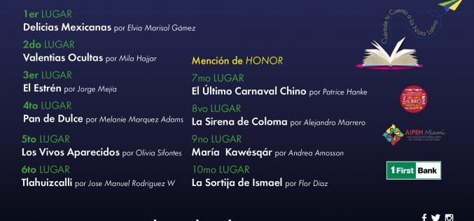 La Nota Latina entrega premios de su segundo concurso de cuentos