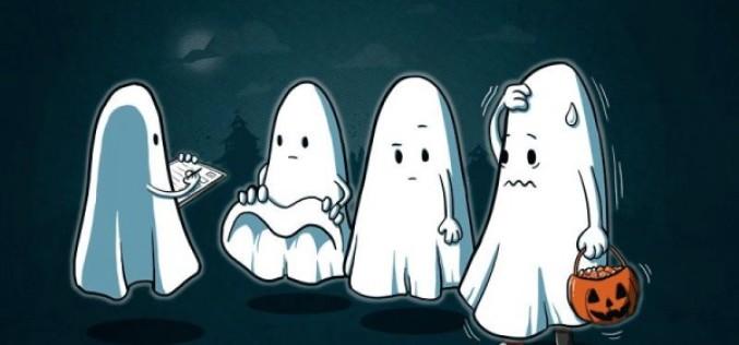 A los fantasmas también le gustan los caramelos…