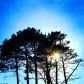 Bellos amaneceres y cielos azules que capta el lente de César Gamboa