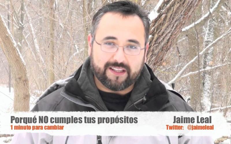 Jaime Leal:  ¿Por qué No cumplimos con nuestros propósitos de Año Nuevo?