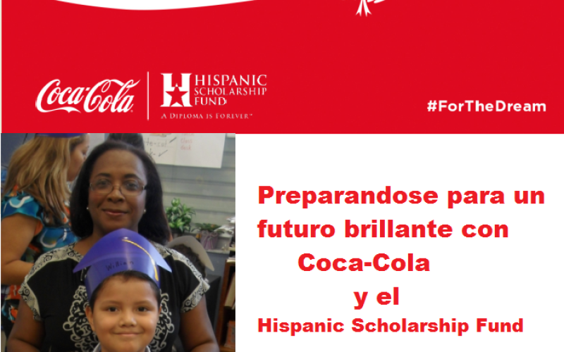 The Coca-Cola Company donó a Hispanic Scholarship Fund 175 mil dólares para becas