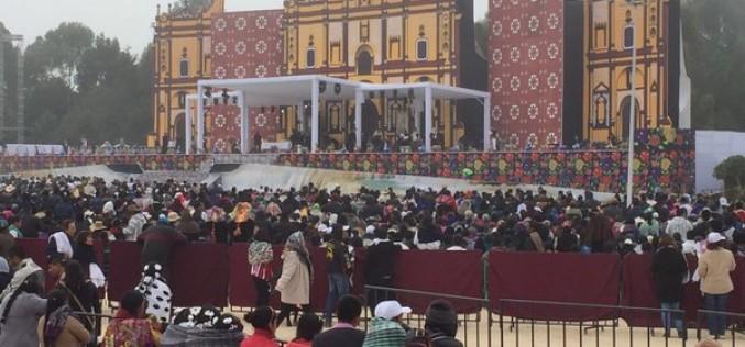 Histórica visita del Papa Francisco a Chiapas reivindica al pueblo indígena