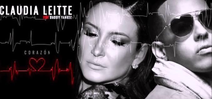 """Claudia Leitte le enciende el """"corazón"""" a Daddy Yankee"""