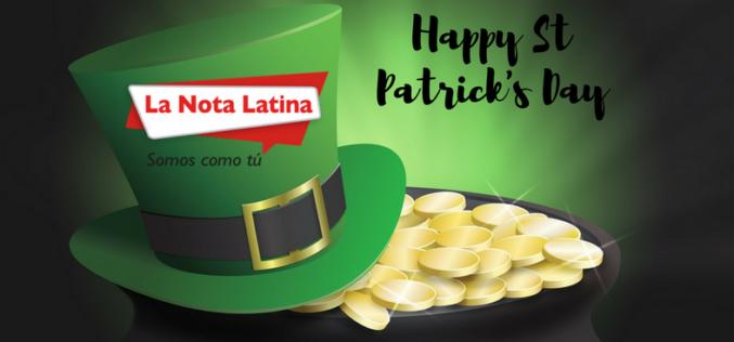 Feliz día de San Patricio… Happy St Patrick's Day