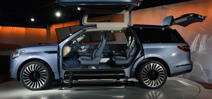Nuevo Lincoln Navigator de la Ford fue presentado el show de autos de Nueva York