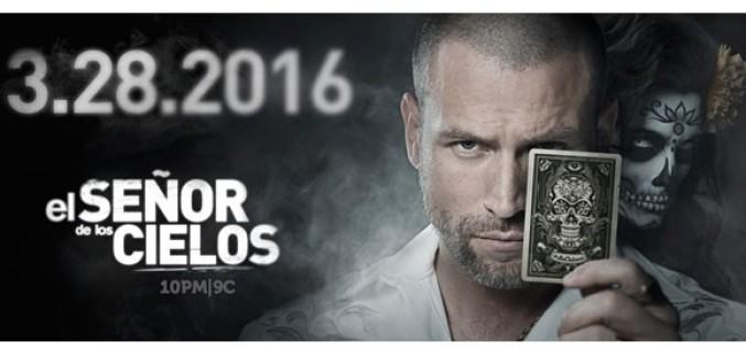 """Telemundo anuncia innovadora campaña para nueva temporada de """"El Señor de Los Cielos"""""""