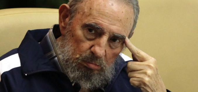 """Fidel Castro: """"No necesitamos que el imperio nos regale nada"""""""