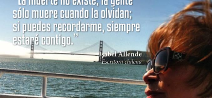 Isabel Allende y su frase sobre la trascendencia