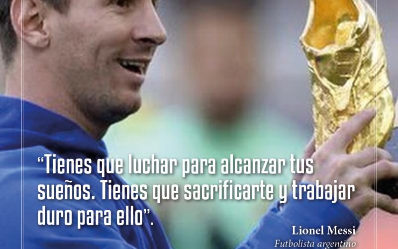 Leonel Messi: Como alcanzar los sueños