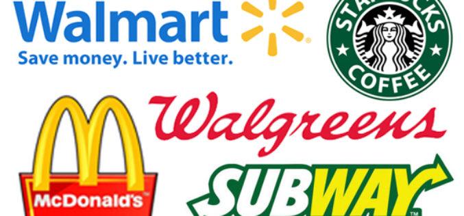 ¿Cuáles son las tiendas más populares de Estados Unidos?
