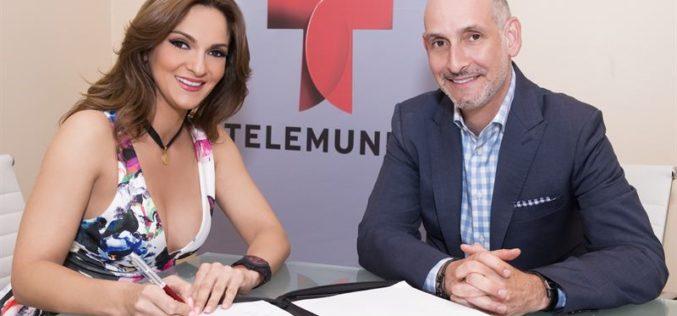 Mariana Seoane firma contrato de exclusividad con Telemundo