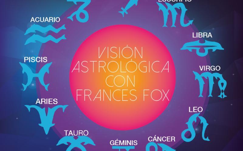 Visión astrológica con Frances Fox: del 10 al 16 de abril