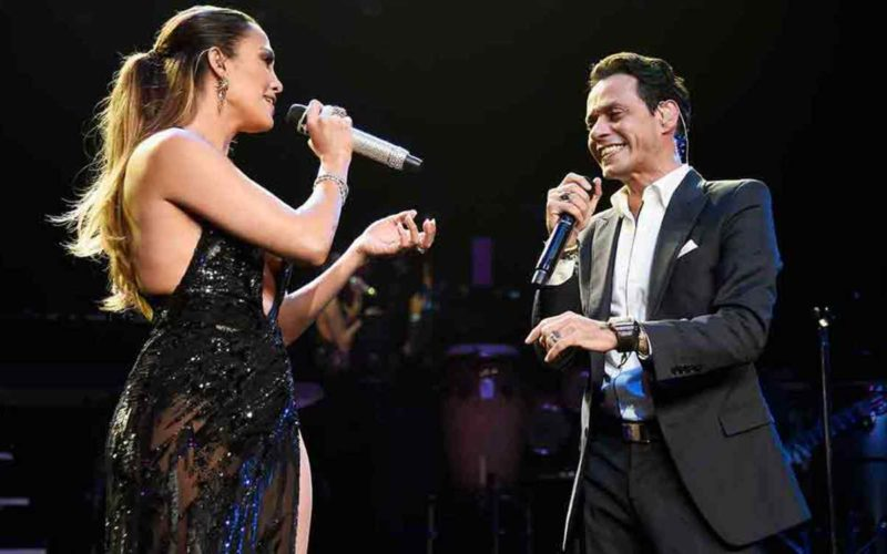 Jennifer López y Marc Anthony juntos en un disco en español