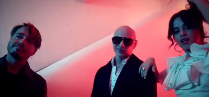 "Pitbull, J Balvin y Camila Cabello estrenan el video ""Hey Ma"""