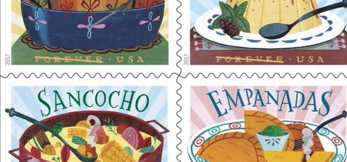 Servicio Postal de EE.UU. rinde tributo a la gastronomía latina