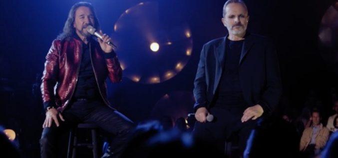 """Miguel Bosé estrena """"Olvídame tú"""" junto a Marco Antonio Solís"""