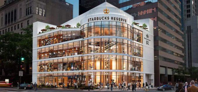El Starbucks más grande del mundo abrirá en Chicago