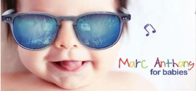 "Marc Anthony lanza ""Marc Anthony for babies"""