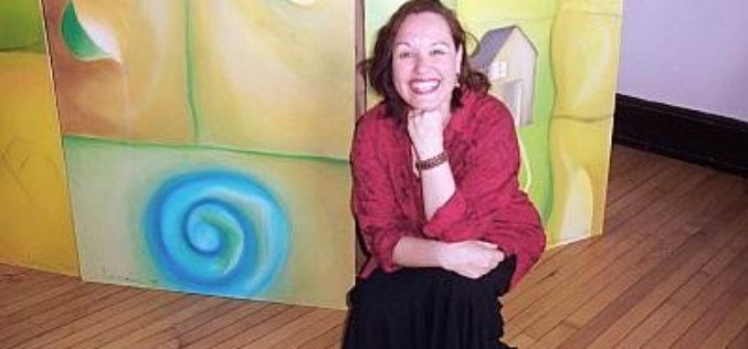 """Beatriz Ledesma: """"la pintura es un desafío creativo"""""""