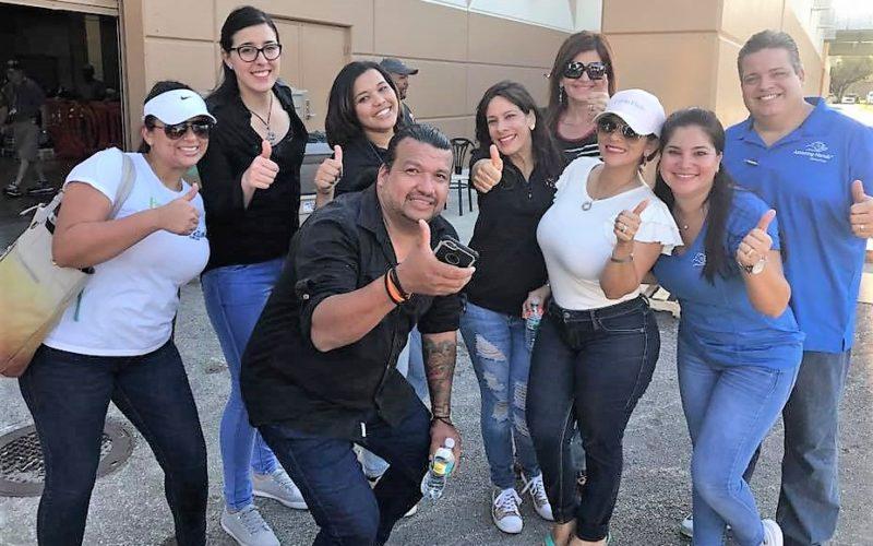 Jornada solidaria a favor de las familias del sur de la Florida