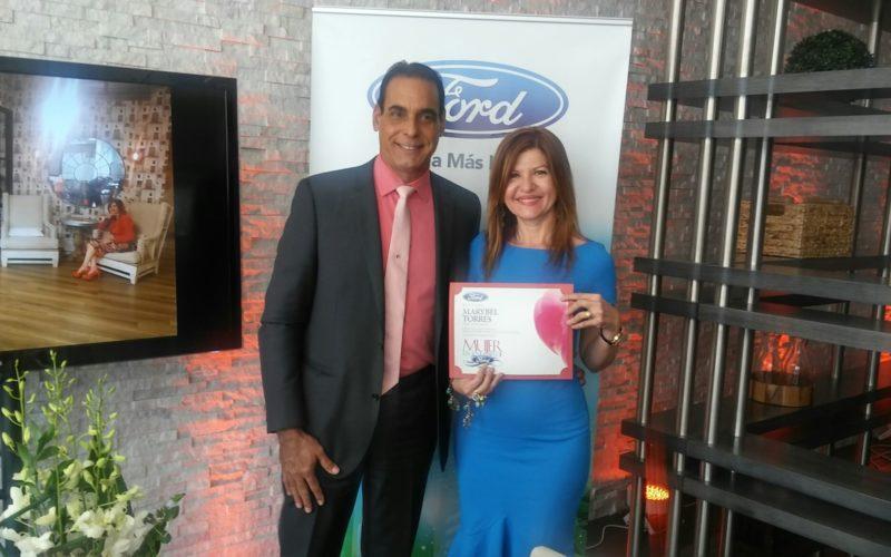 """La compañía Ford reconoce a Marybel Torres como """"Mujer Legendaria"""""""