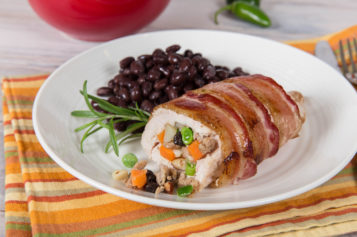 Pollo Festivo, una receta del chef Carlos Gaytán