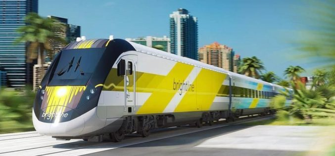 Primer tramo del tren de alta velocidad entre Miami y Orlando será estrenado en enero