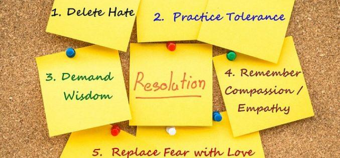¿Cuáles son las resoluciones para el año 2018?
