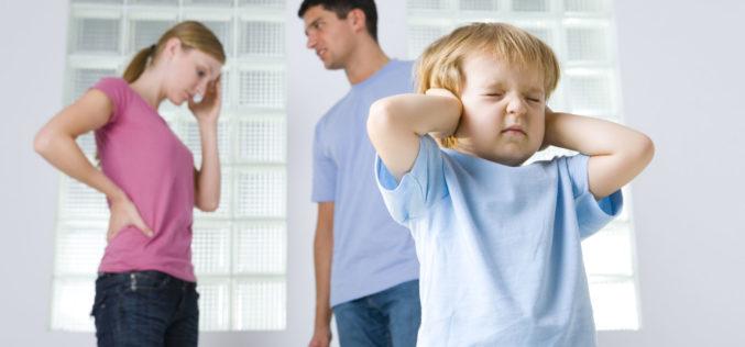 Gritos, insultos y descalificación: partes de los problemas de la vida familiar