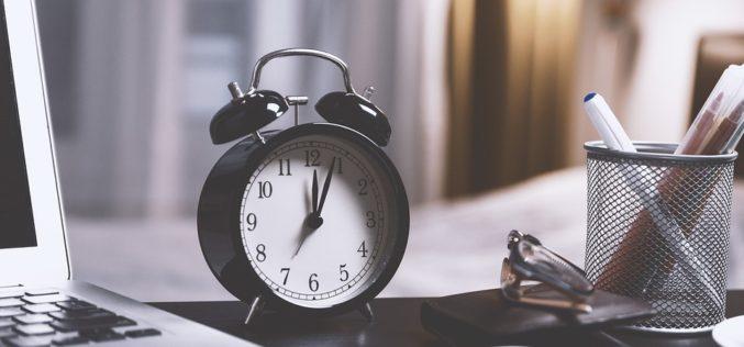 ¿Cómo debemos organizar nuestro tiempo?