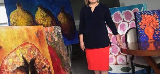 """Margarita Barroso: """"Estoy empeñada en mostrar al mundo el color y la belleza de mi arte"""""""