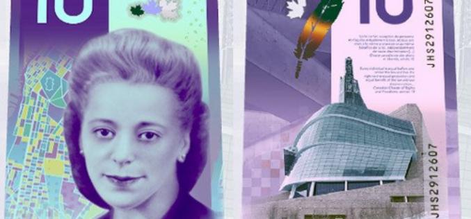 Canadá lanzó su primer billete con el retrato de una mujer afrodescendiente