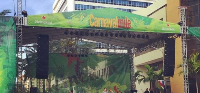 Miami vibró con el multitudinario carnaval de la Calle 8