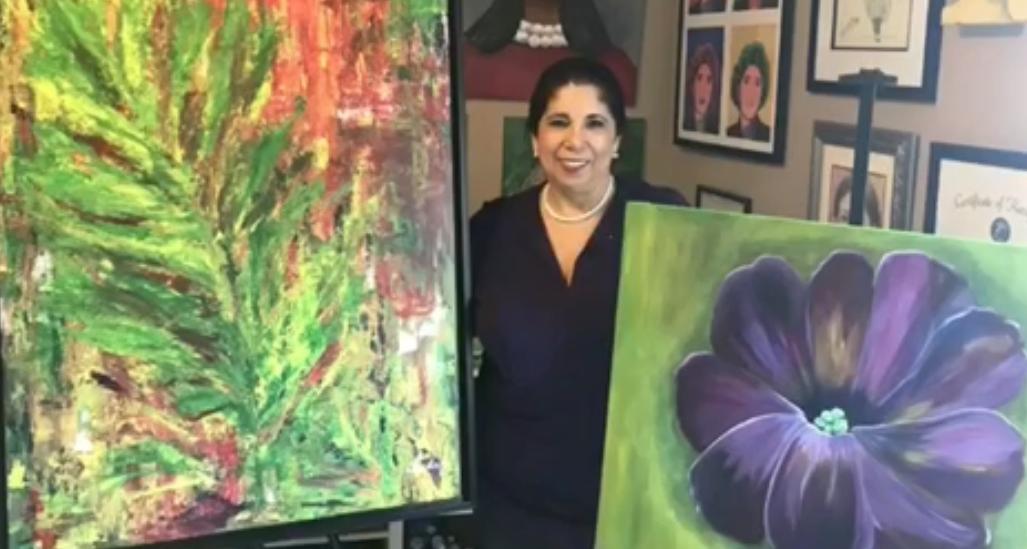 """Rosa G Landaez: """"Me encanta que mis obras sean disfrutadas"""""""