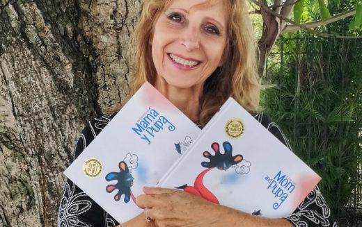 """La escritora Mila Hajjar presenta su libro """"Mamá y Pupa"""""""