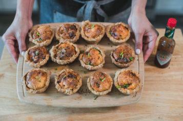 Muffins de Chorizo Breakfast Quiche