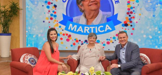 Martica se jubila y Univisión le rinde emotiva despedida