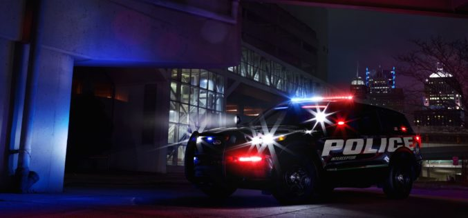 Ford lanzó el nuevo vehículo policial de persecución híbrido