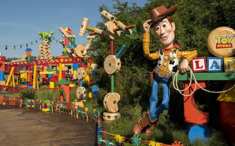 Toy Story Land, la nueva atracción de Disney