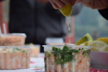 Ceviche vegetariano en honor a las fiestas patrias peruanas