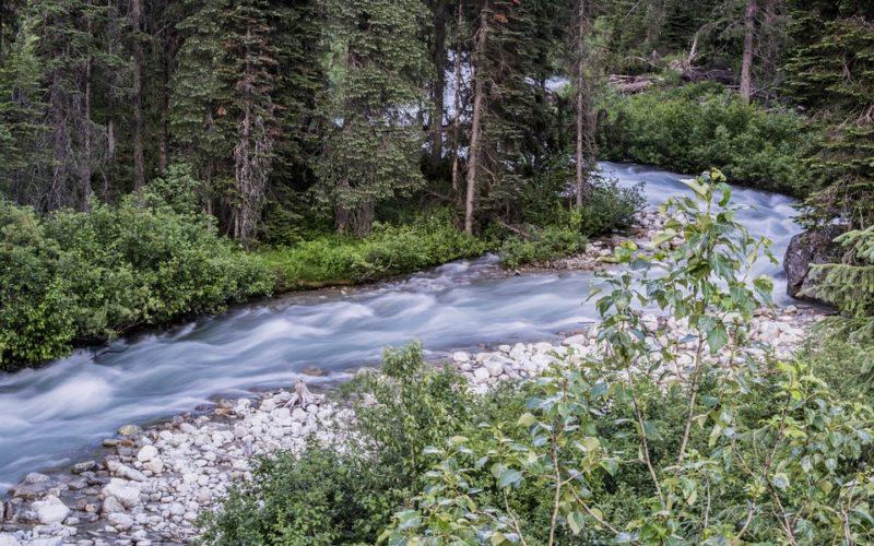 Un río que se seca, un poema de Eduardo Escalante