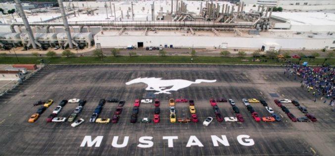 Ford celebra la producción del 10 millonésimo Mustang
