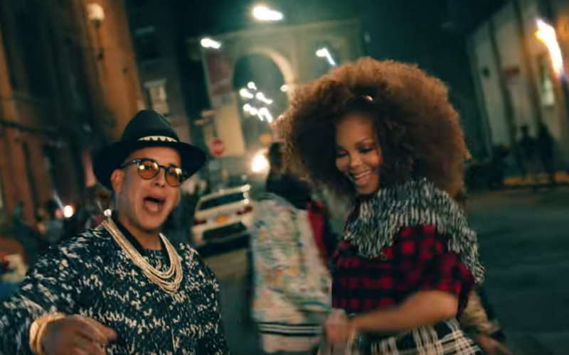 "Janet Jackson y Daddy Yankee estrenan ""Made for now"""