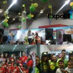 Expolit 2018 vibró con la presencia juvenil