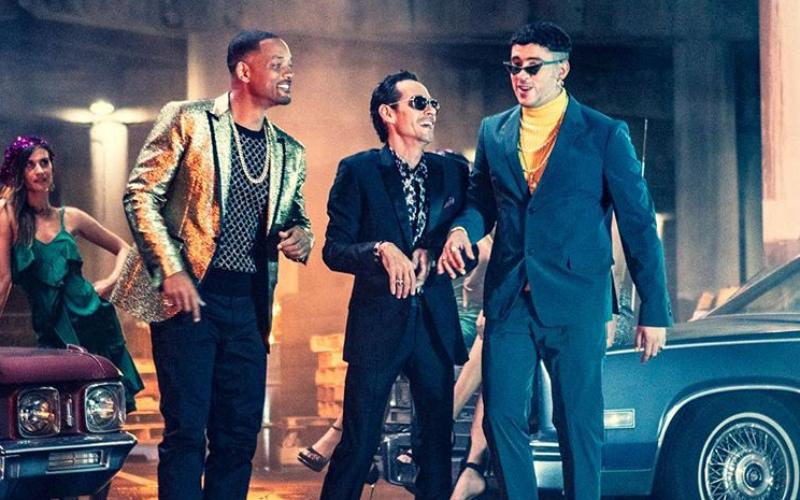 Marc Anthony, Will Smith y Bad Bunny estrenan Está Rico